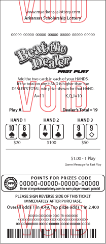 Beat The Dealer Fast Play