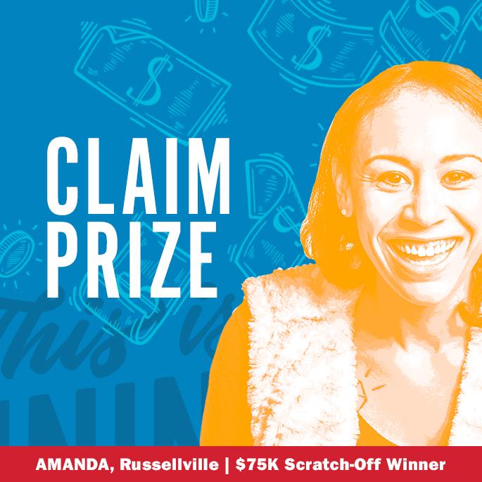 Claim Your Prize | Arkansas Scholarship Lottery