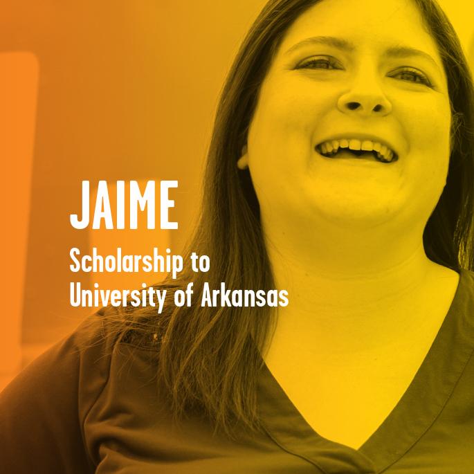 Scholarship Recipient Jaime Self