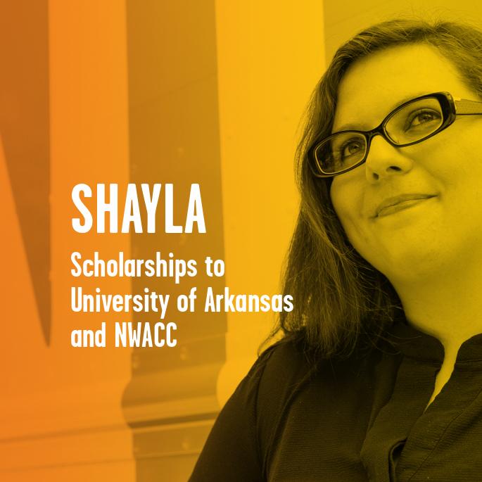 Scholarship Recipient Shayla Robinson