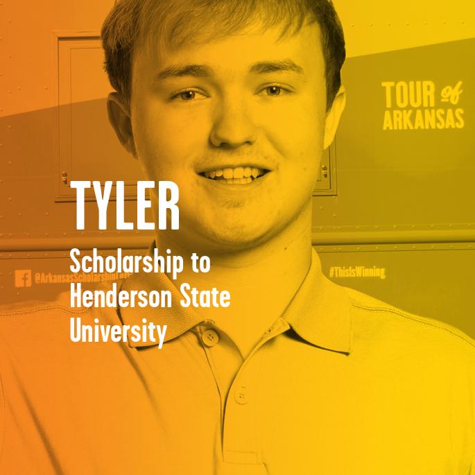 Scholarship Recipient Tyler Draper