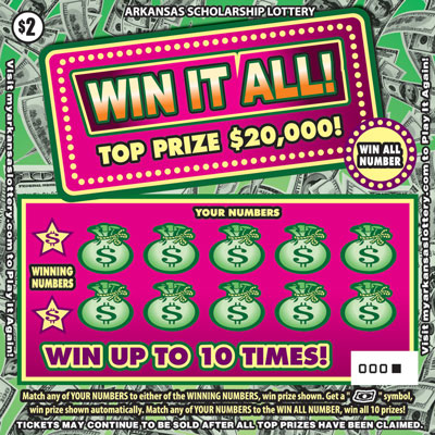 Arkansas Lottery Instant Ticket - Win It All!
