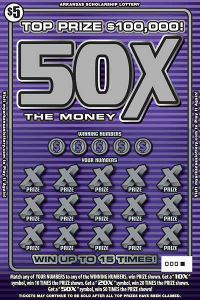 50X The Money - Front
