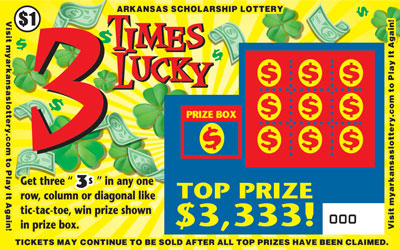 3 Times Lucky - Front
