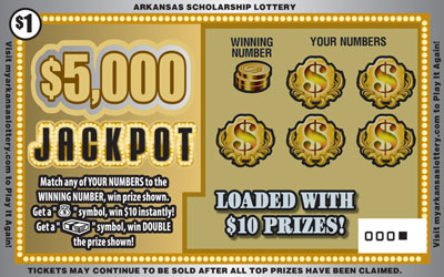$5,000 Jackpot - Front