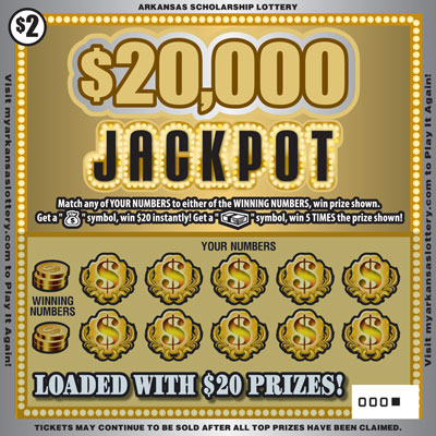 $20,000 Jackpot - Front