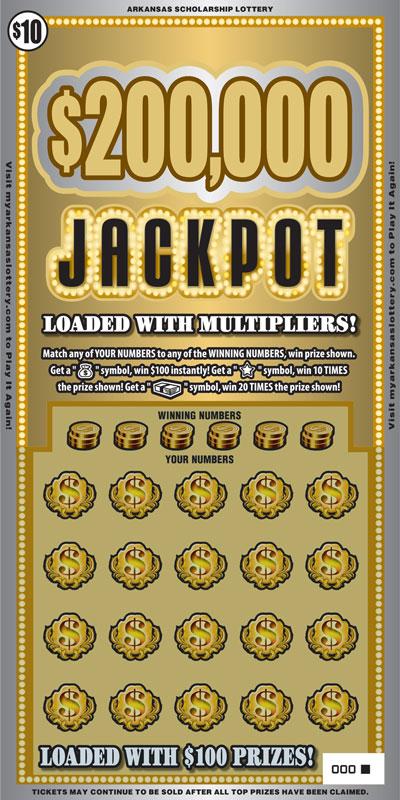 $200,000 Jackpot - Game No. 447