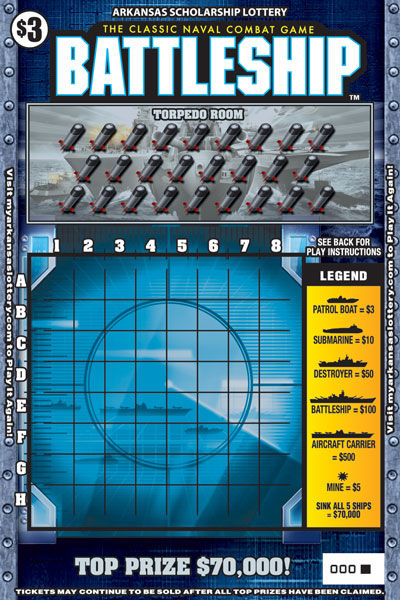 BATTLESHIP™ - Game No. 464 - Front