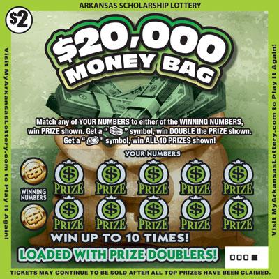 $20,000 Money Bag - Game No. 468