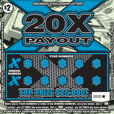 20X Payout - Game No. 491 - Front