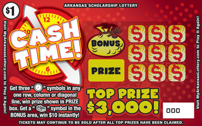 Cash Time - Game No. 495 - Front