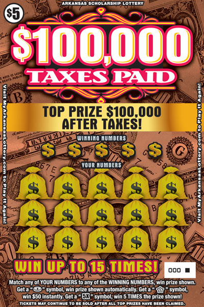 $100,000 Taxes Paid - Game No. 502