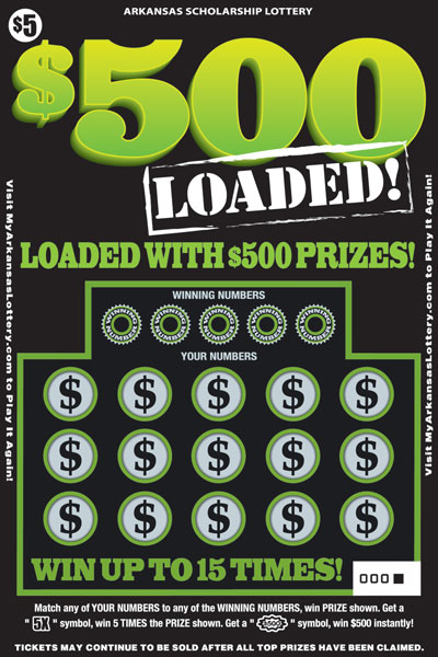 $500 Loaded - Game No. 506