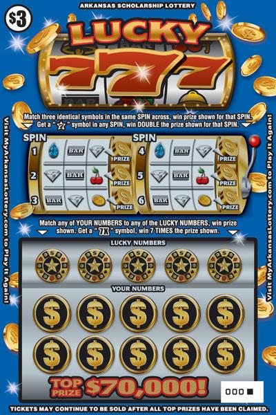 Lucky 777 - Game No. 519