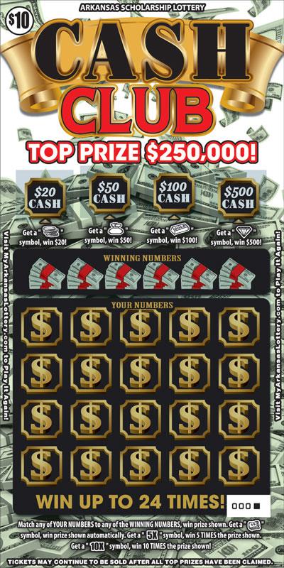 Cash Club - Game No. 521