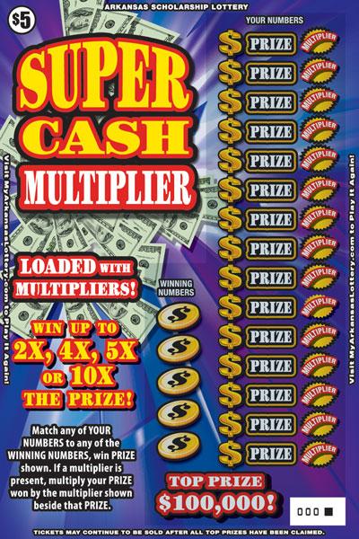 Super Cash Multiplier - Game No. 533