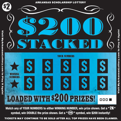 $200 Stacked - Game No. 537