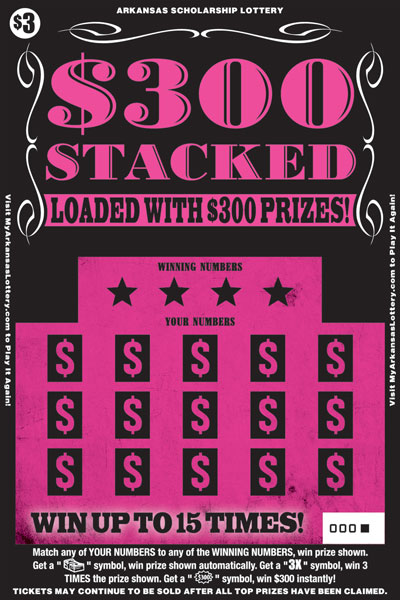 $300 Stacked - Game No. 538