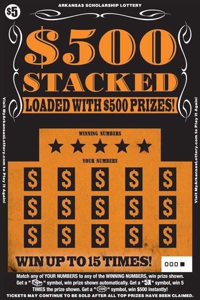 $500 Stacked - Game No. 539