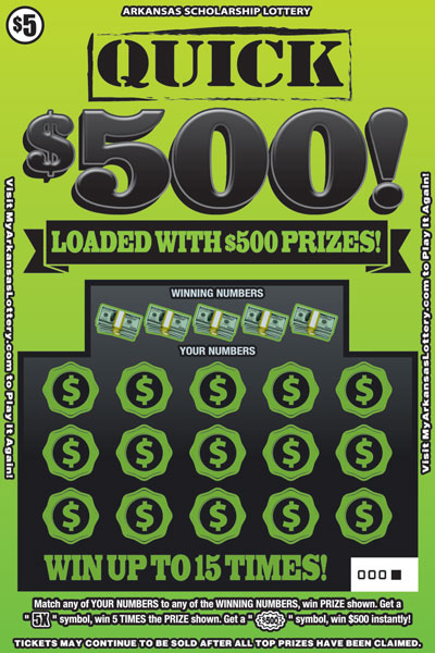 Quick $500! - Game No. 563