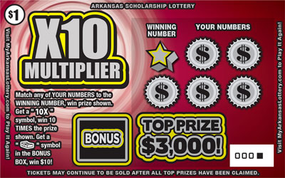 X10 Multiplier - Game No. 570