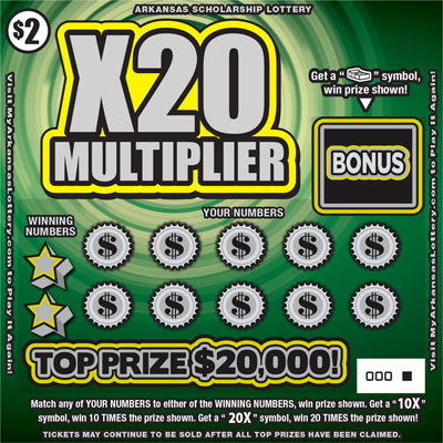 X20 Multiplier - Game No. 571