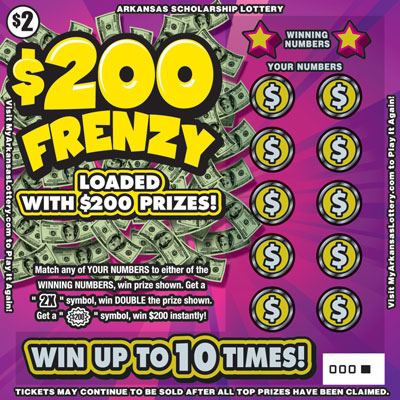$200 Frenzy - Game No. 595