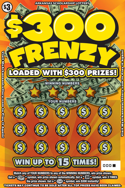 $300 Frenzy - Game No. 596