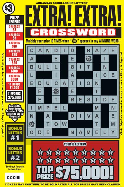 Extra! Extra! Crossword - Game No. 601