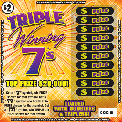 Triple Winning 7's - Game No. 610