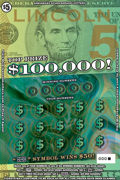$100,000 Lincoln - Game No. 626