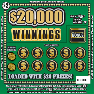 $20,000 Winnings - Game No. 639