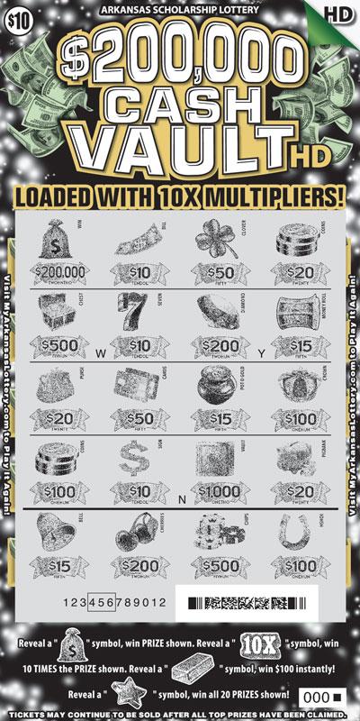 $200,000 Cash Vault HD - Game No. 475