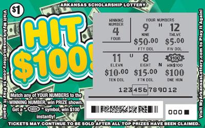 Hit $100! - Game No. 481