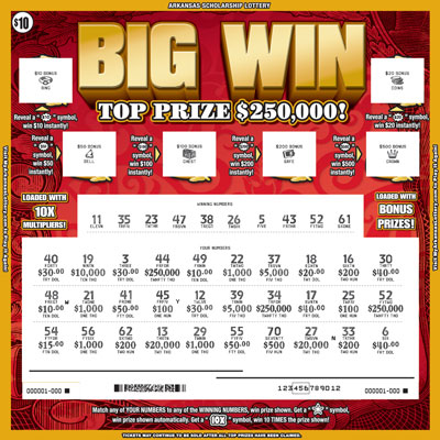 Win Big - Game No. 499 - Uncovered