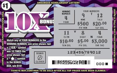 10X Bonus - Game No. 513