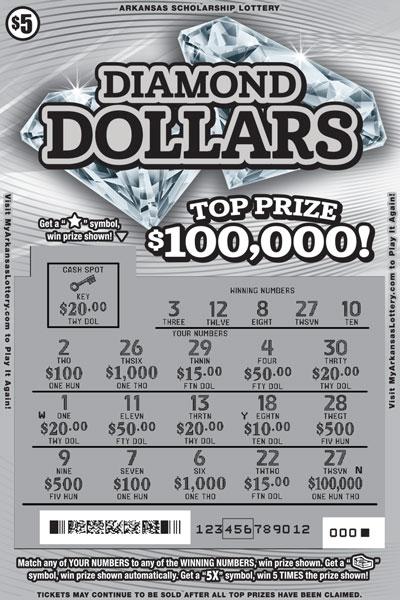 Diamond Dollars - Game No. 578