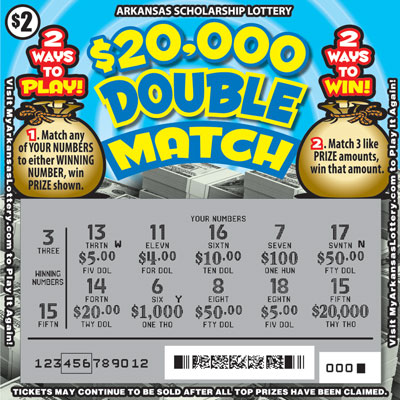 $20,000 Double Match - Game No. 581