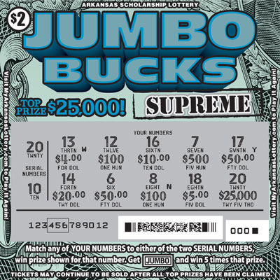 Jumbo Bucks Supreme - Game No. 600