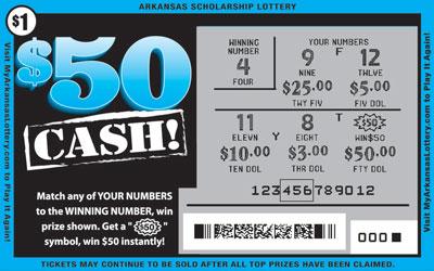 $50 Cash! - Game No. 623
